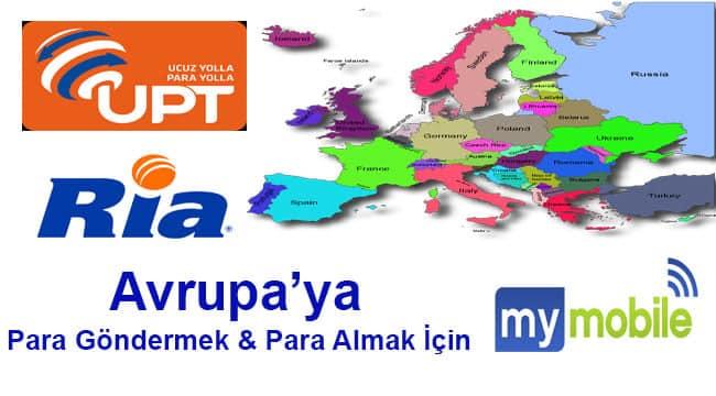 Money Transfer Europa -Turkey